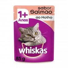 Whiskas Sachê Salmão 85g